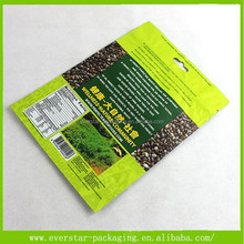 Hot Sale For Planting Seeds Packaging Plastic Bag Printing Ink