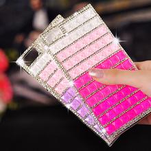 Full Diamond Bling Bling Case for Xiaomi mi1 mi2 mi3 Red mi Note,Colorful Diamond Phone Cover