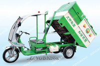 Electric garbage collection vehicle
