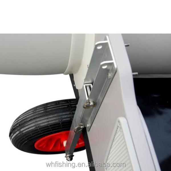 Как сделать транцевые колёса 460