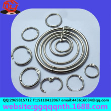 Hardware accessories metal copper iron stainless steel zinc alloy spring coil circle activity books ring