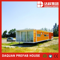 Daquan Modern Design Container Home Eco House 20ft 40 ft Multi Level House Steel Frame Casa Modular Container Strong Building