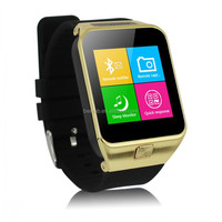 """1.54"""" Aluminum stainless steel cover bluetooth/GPS/WIFI 3g GSM Android smart watch"""