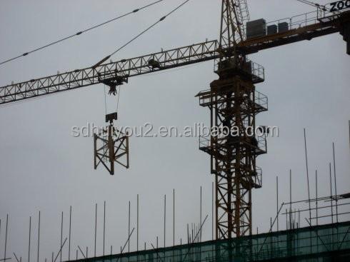 topkit برج كرين مستعملة/ 6t تحميل/ مزدوجة dyration/ حار بيع