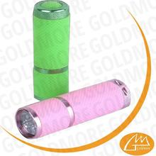 1 year warranty NEW Portable Multifunction 9 led fluorescent rubber led torch light manufacturers