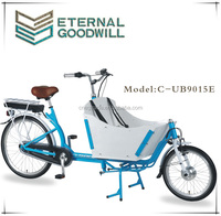 electric adult tricycle hub gear inter 7 speeds electric cargo bike/cargo tricycle bike/bakfiets electirc adult tricycle UB9015E