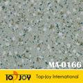 Não- deslizamento comercial baratos roll olhar de mármore folha de vinil pisos