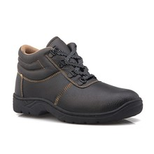 new 2015 men Genuine Leather shoes/ safety shoes/safety shoes for electrician