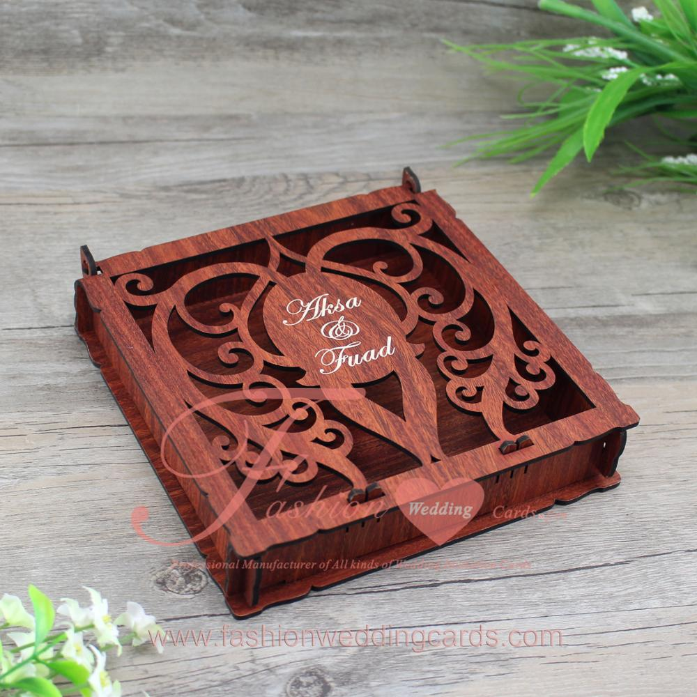 High Quality Customized Laser Cut Personalized Wedding Invitation ...