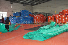 Green/Orange/Blue/White/Blue Waterproof Waterproof Orange Blue Polyethylene Tarpaulin / PE Tarps Fabric / Canvas / Sheet / Roll