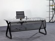 modern tempered glass office desk 2012