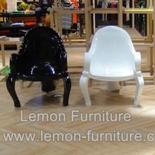 Low price classical fiberglass ball pet chair