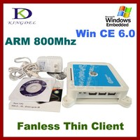 KINGDEL wifi Mini PC station thin client N380 Multi Terminal Pc Station Win CE 6.0