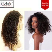 2013Hot Sale Malaysian Hair Kinky Curly Full Lace Wigs