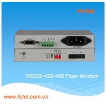 RS232 RS422 RS485 Serial fiber modem