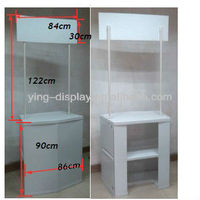 plastic portable promotional table Promotional Counter