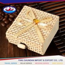 China manufacturer popular wedding candy box