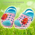 Importación deslizador de china eva de dibujos animados los niños, eva bebé sandalia diseño más tipos para niños calzado de playa muchachos de las muchachas