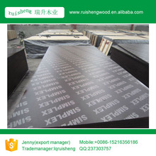 Concrete Forming Plywood/Film Faced Plywood with best quality and cheap price