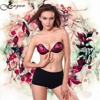 wholesale ladies self-adhesive sexy silicone bra new design