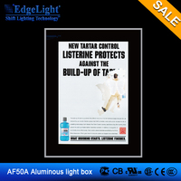 Edgelight AF50A aluminous frame waterproof led light box