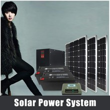 high quality 150 watt poly solar panels with 5kw battery back up