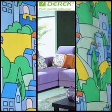 DB033 Decorative Window Film For Glass Window With Beautiful Patterns
