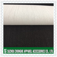 Woven fusible acrylic/cotton/polyester woven fusible interlining