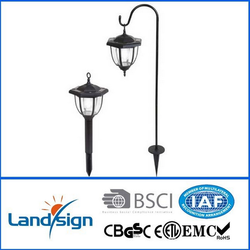 2015 Hot Products Yards & Beyond Dual Use Coach Style Solar Lights - 2 Pack