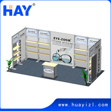 10x20 custom flexible exhibition stand