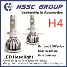 H4 CREE led headlight bulbs cree motor front lights conversion kit for cars trucks