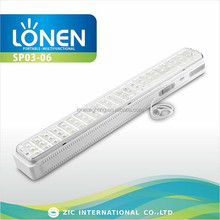 LONEN best sell 66 LED LONEN wall mount solar rechargeable led emergency light
