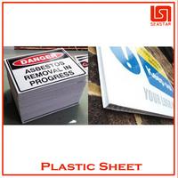 High quality plastic antistatic billboard advertising materials