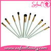 Sofeel 10 piece beauty eye makeup brush tool