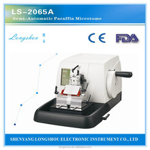 LS-2065A Semi-Automatic Paraffin Microtome tissue processor
