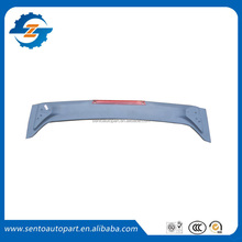 Hot sale rear Spoiler with light ABS Rear roof spoiler for civic