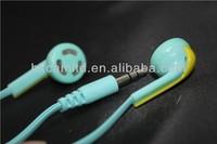 OEM factory price in-ear soyle earphone plastic earphone headphone