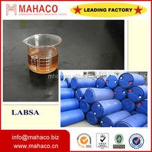 anionic Surfactant Dodecyl Benzene Sulfonic acid LABSA 96% Lauryl benzene sulfonic acid Manufacturer price