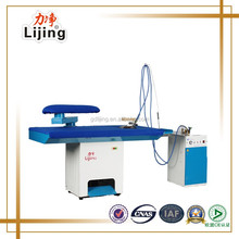 Ironing table professional full function fabric steam iron with boiler for laundry shop/guesthouse/hotel