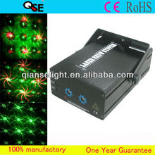 Newest!!! 8 Patterns Red & Blue Doube Hole Professional Stage Night Club DJ/Disco Light Laser Show