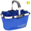 Foldable Non Woven Storage Gift Basket/non woven shopping basket/wholesale shopping basket
