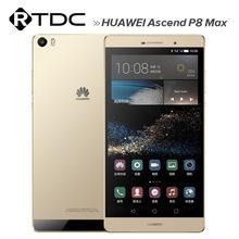 Original Huawei Ascend P8 Max 4G FDD LTE Mobile Phone Kirin 935 Octa Core Android 5.0 6.8 Inch IPS 3GB RAM 64GB ROM 13.0MP