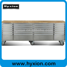 new 2015 hyxion 96inch storage tool cabinet on wheels