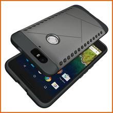 Hybrid pc tpu mobile phone case for Huawei Nexus 6p case