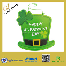 paper Wall Hanging Plaque Sign St Patrick's Day st patricks day hat