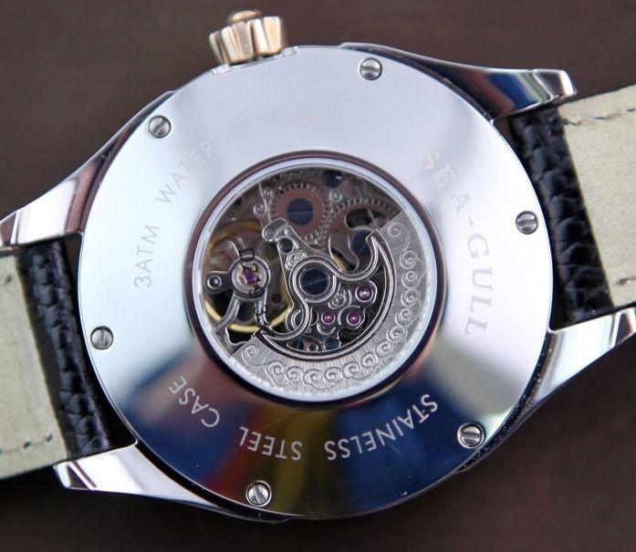 Наручные часы Seagull Watch New Sea/Gull D219.337 skeleton 2/tone automatic watch New Sea-Gull D219.337 skeleton 2-tone automatic watch