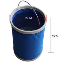 Fold Up / Folding Water Bucket for Camping, Fishing Accessories, 9L Bucket