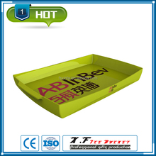 Pale yellow 3.0mm plastic serving tray target
