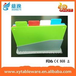 wholesale flexible plastic kitchen chopping block/chopping board