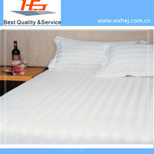 Polyester&Cotton Flat Sheet with Irregular Stripe Pattern